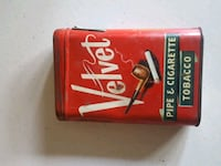Antique tobacco  can