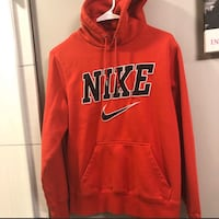 Red Nike hoodie size Small