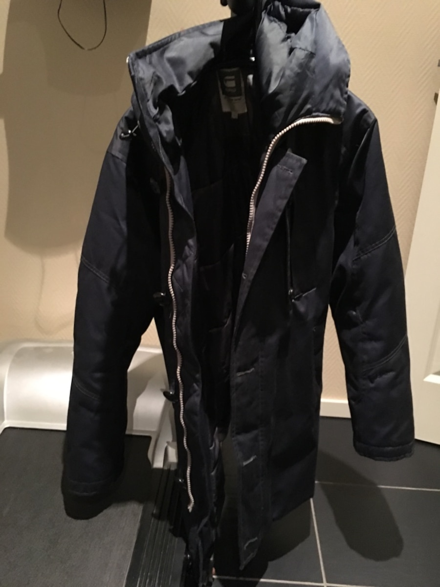 G-Star Raw Mountain Down Parka Navy L - kr 1 200