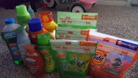 assorted Gain and Tide detergent bottles San Antonio