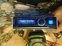 black 1-DIN stereo head unit Township of Taylorsville, 28681