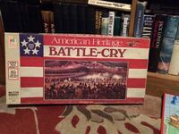 Vintage Battle Cry Board Game