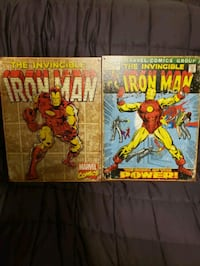 Iron man Tin artwork and age of Ultron poster