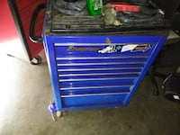 blue and black tool cabinet El Paso, 79928
