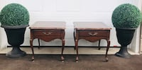 French Provincial side tables  Toronto, M9B 3C6