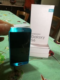 32 GB blu Samsung Galaxy S6 con scatola Suppa, 81020