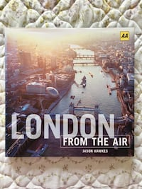 JASON HAWKS London from the air Madrid