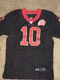 black and red NFL jersey Bethesda, 20814