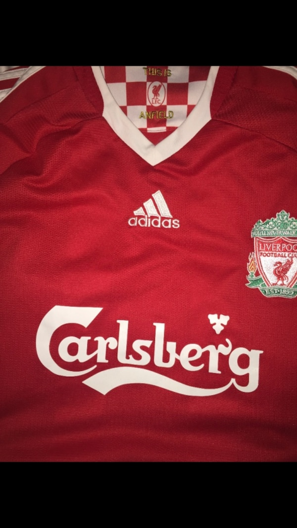 outlet store sale 3acdb 5043e Authentic Adidas Liverpool Home Jersey. Season 2008-2010.