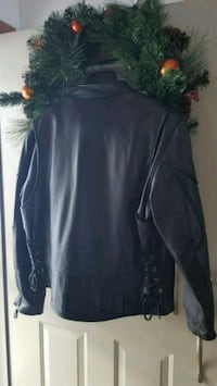 Leather motorcycle jacket never worn Walton, 13856