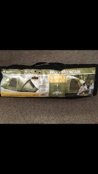 8 men tent with a water proof cover free with it   Fairfax, 22030