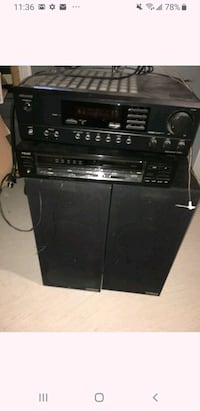 Vintage stereo receivers and speakers Onkyo TechSonics Brampton, L6Y