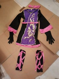 purple and black long-sleeved dress Airdrie, T4B 3C1