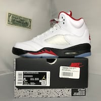 Jordan 5 Fire Red Youth