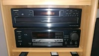 Onkyo 6 disk changer and audio receiver Largo