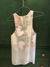white and pink floral sleeveless dress Vaughan, L4L 8X8