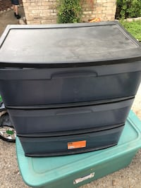3 Drawer plastic container San Antonio, 78228
