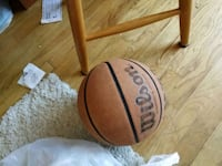 Wilson leather basketball barely used Reston, 20191