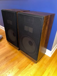 Mitsubishi SS-152 Vintage Home Theater Tower Surround Sound Speakers