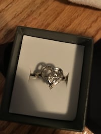 Silver ring in box. Bought at Micheal Hill Winnipeg