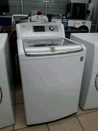 white top-load clothes washer South Gate