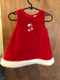 Babygirl Christmas Dress-12mo Rockville, 20853