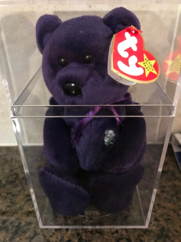 Used Princess Diana TY beanie baby for sale in Roswell - letgo 43d92e4bbac