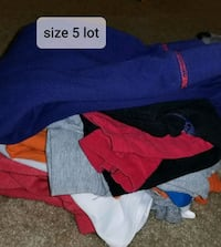 Boys size 5 clothing lot Bowie, 20715