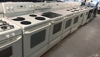 "30"" electric stove 90 days warranty Reisterstown, 21136"