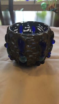 Metal and Glass Candle Holder Johns Creek, 30022