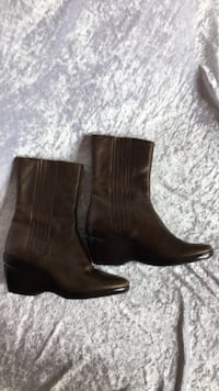 COLE HAAN genuine Brown leather mid-calf boots Upham, E5N 3L2