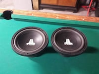 two black-and-gray JL Audio subwoofers Spokane, 99205