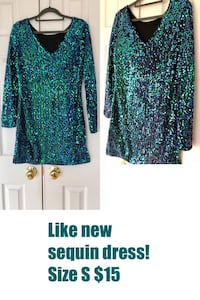 Wore once! Sequin dress! Chantilly, 20152