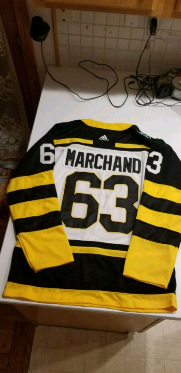 release date: 6ab57 120fb 2019 Winter Classic Brad Marchand Stitched Jersey!