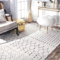 Blythe Moroccan Transitional Gray 4 ft. x 6 ft. Area Rug Richmond Hill, L4B 4T9