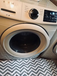 White samsung front-load clothes washer and dryer set Wichita, 67208