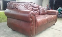 Two leather couches $70.00 each   Modesto, 95356