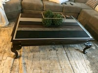 Solid wood coffee table (will deliver)