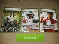 three assorted Xbox 360 game  Alexandria, 22306