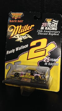 NASCAR Rusty Wallace 1/64 25th anniversary die cast replica