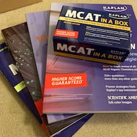 MCAT subject review, practice tests, and vocab Piscataway, 08854