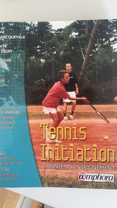 Livre d'initiation au tennis