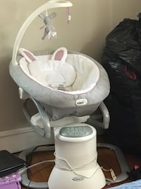 Graco everyway soother swing with removable bouncer