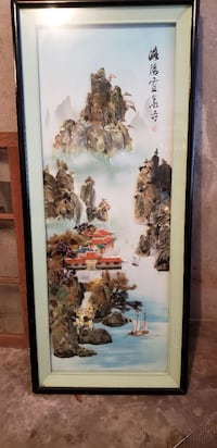 Beautiful Chinese art made by real mother pearl  Madison, 53719