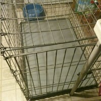 Large dog cage today only Akron, 44314