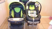 baby's green and black Chicco travel system Vancouver, V5N 2V5
