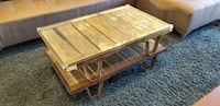 Vintage Coffee Table (1950s industrial) TORONTO