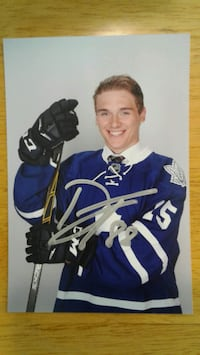 Dmytro Timashov 4x6 signed photo Winnipeg, R3P 2T6