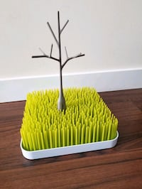Boon grass drying rack and twig accessory
