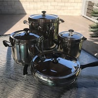 Stainless Steel Cookware Set Los Angeles, 91352